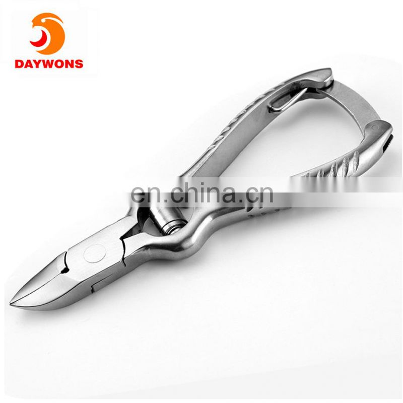 Daywons Professional Grade Cuticle Nipper Cutter Clipper Stainless Steel Durable Manicure Pedicure and Nail Art Tool