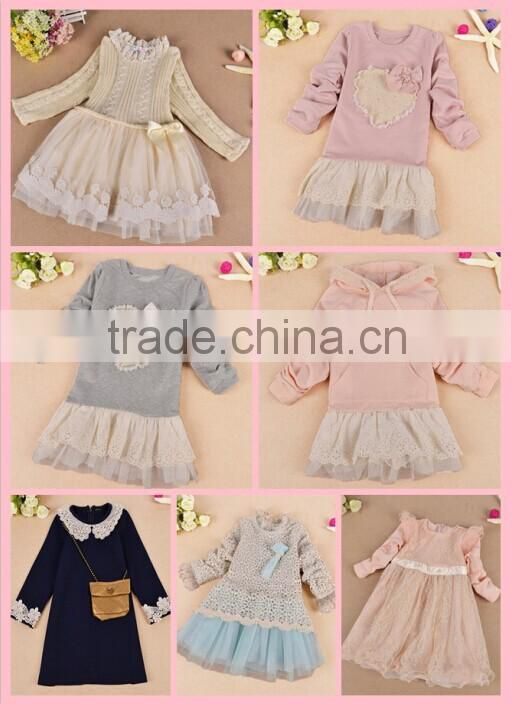 Korean Thick Cotton Tights Fashion Pearl Kids Ruffle Leggings For Girls