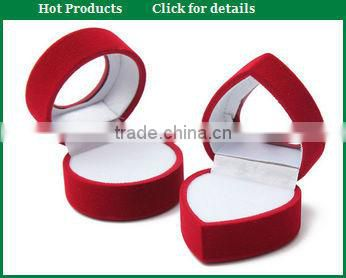 pure red plastic led ring holder