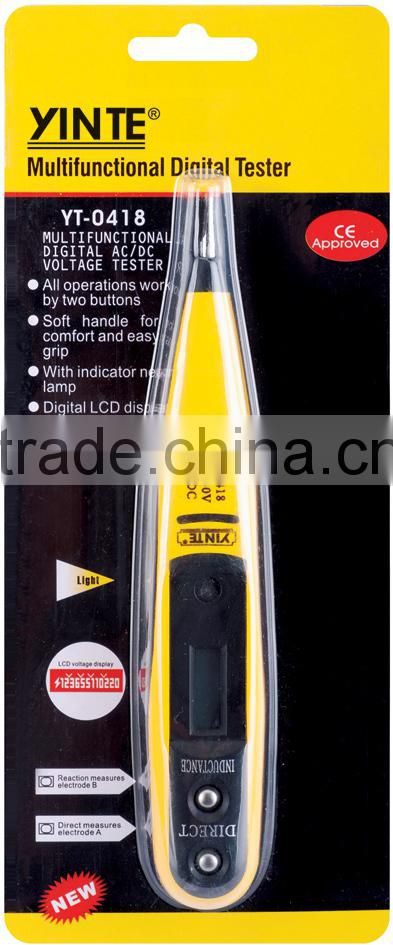 Electrics Electrical AC//DC12-250v 160mm Digital Display Circuit Tester