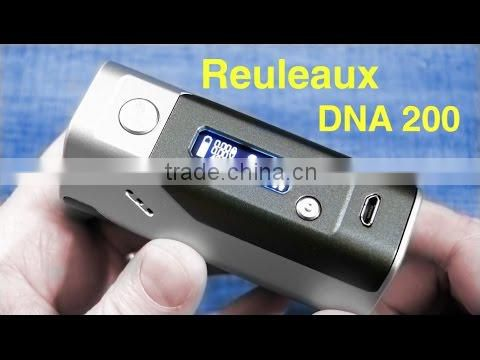 First Batch 100% Original 18650 cells WISMEC Reuleaux DNA 200w kit