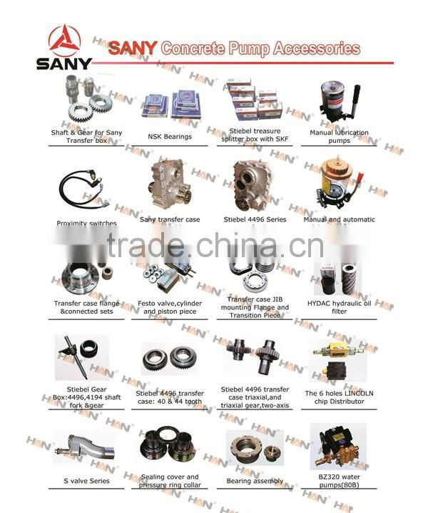 Sany HYDAC hydraulic oil filter Concrete Pump spare parts for
