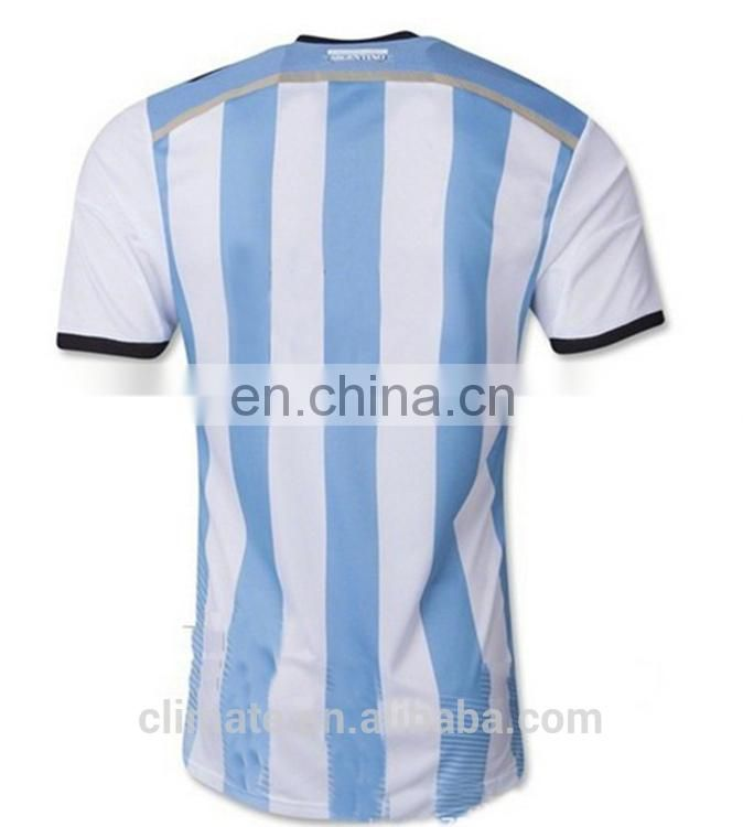 New design shirts World Cup 2014 Argentina soccer jersey,high quality clothes wholesale