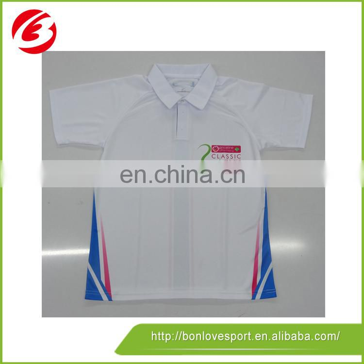 Digital Print With Pattern Polyester/ Spandex Polo-Shirt