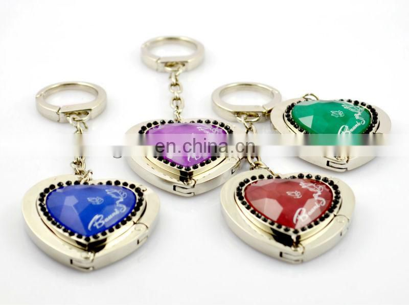 Promotional metal Heart bag holder