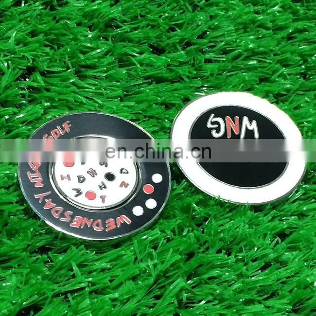 Custom ball marker /Novelty golf ball markers/Cheap golf ball marker