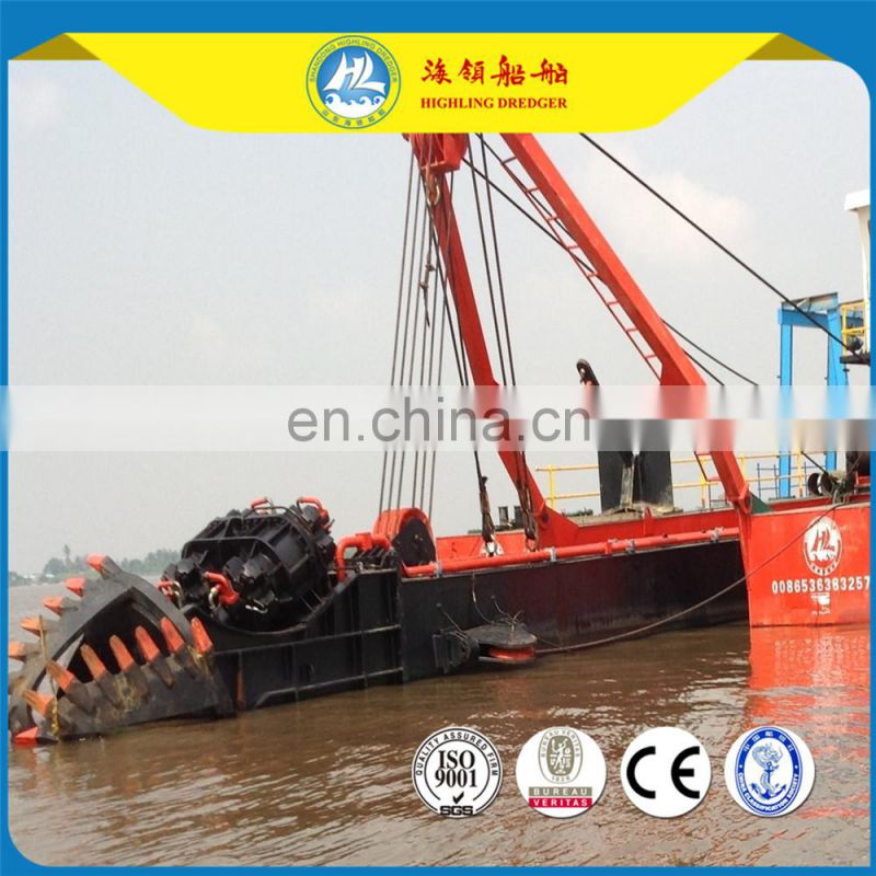 hot selling 2017 hydraulic cutter suction dredger,dreding machine price Image