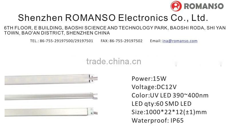 uv LED strip light 400-405nm rohs uvc led rohs 265nm led truck light decoration for home