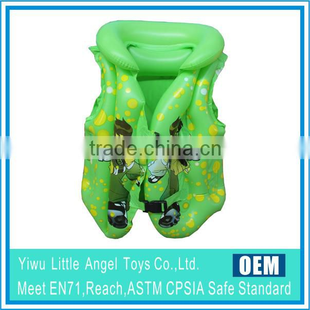 Inflatable life jacket life-vest inflatable kid's swim wear swim vest