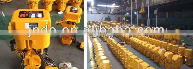 Lifting equipment electric chian hoist