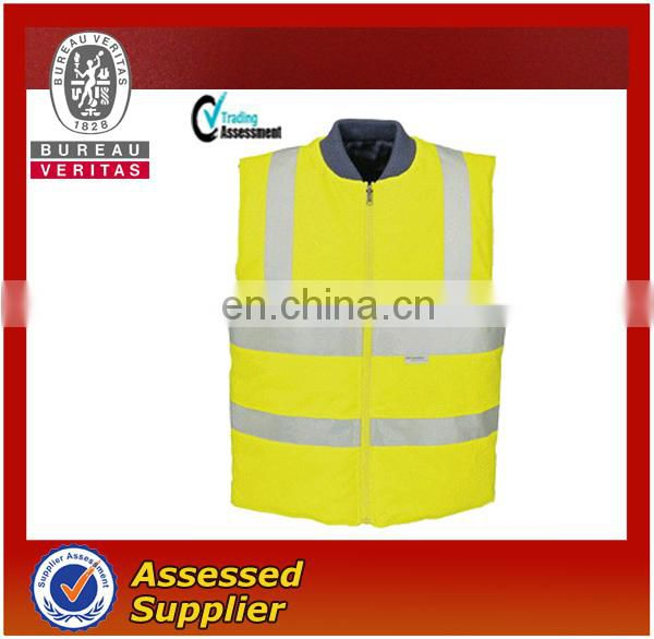 High -Vis warmer winter vest