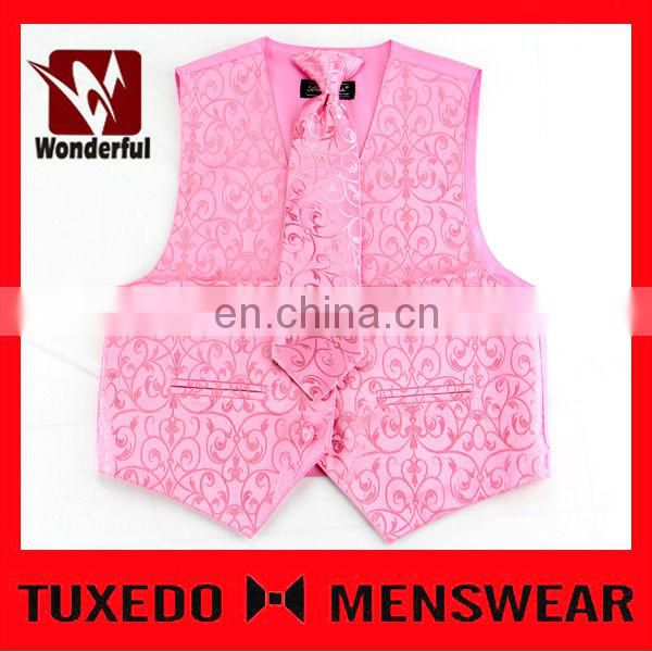 Breathable Traditional Velvet Waistcoat Models For Men