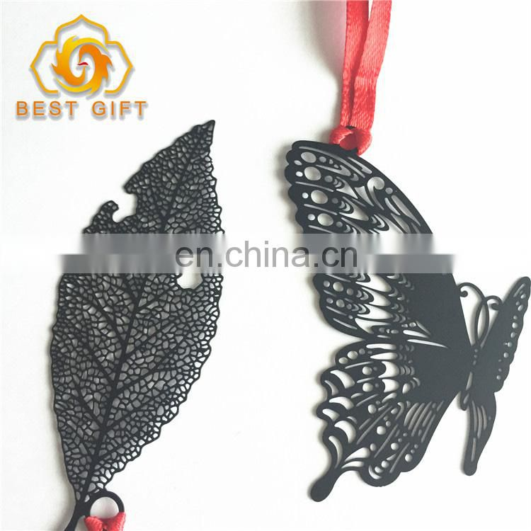 Custom High Quality Unique Fruit Shaped Black Color Bookmarks