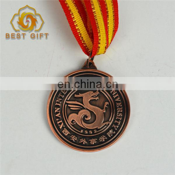 High Quality Custom Cheap Metal souvenir Award Medal
