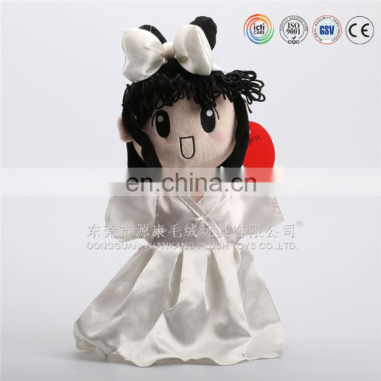 China wholesale custom made photo 3D face doll with plush toys