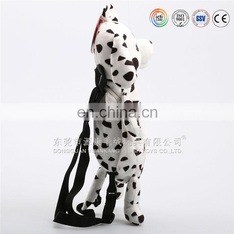 Muti colored cute animal kids backpack