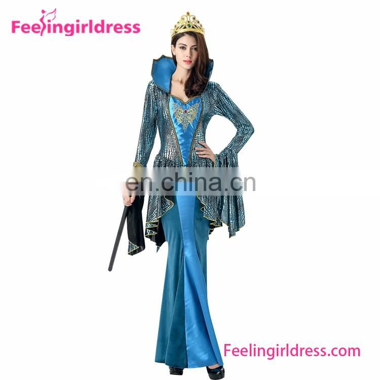 Fast Shipping Queen One Piece Dress Costumes Adults Cosplay