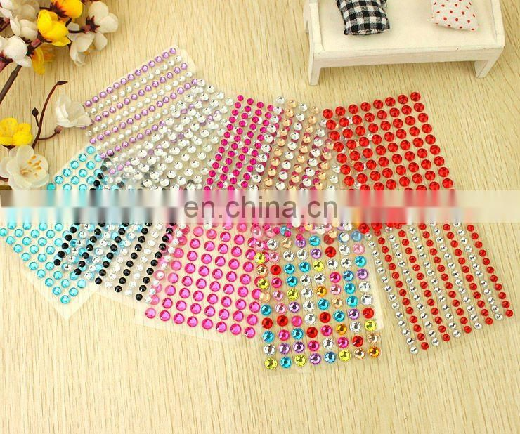 Crystal Rhinestone decorative sticker