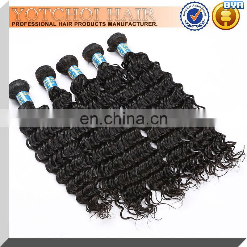 Hot Sale Super Quality alibaba China deep wave express remy unprocessed virgin malaysian hair