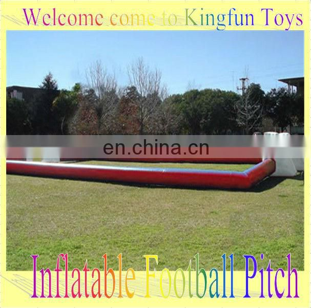 Good price inflatable water soccer pitch,inflatable football water game