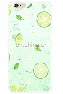 2016 Fruit Pints Soft Gel Clear Phone Case Phone Cover