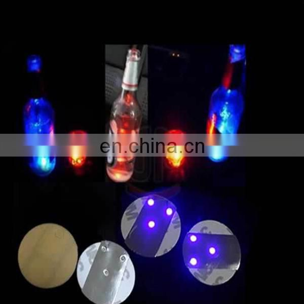 Best sale decoration led coaster cheapest party coaster led light drink coasters