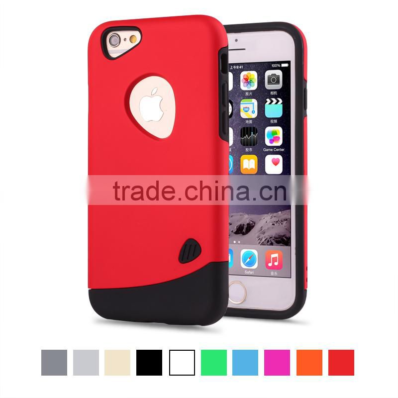 Newest hot selling cobblestone oil Wax case for iPhone 6 plus 5.5 inch sublimation blank cover