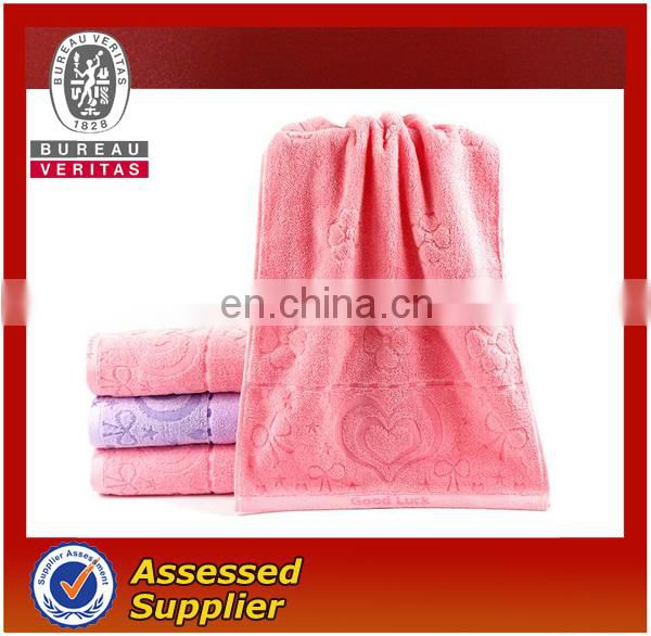 luxury embroidered face towels