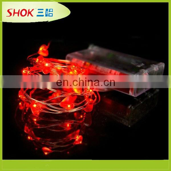 promotional led ultra thin wire string light