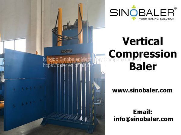 Vertical Compression Baler Machine Image