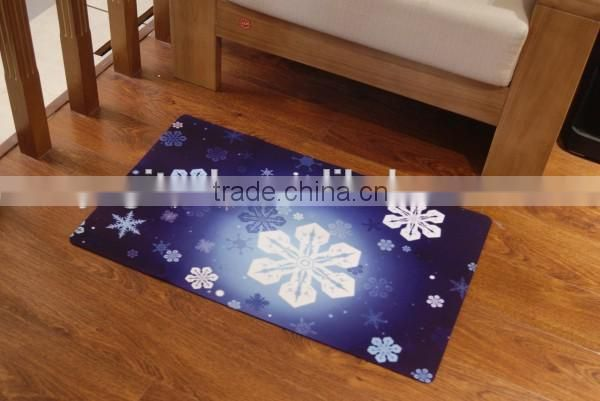 2016 hot sale high quality anti-slip washable entrance door mats,door mat with custom printing