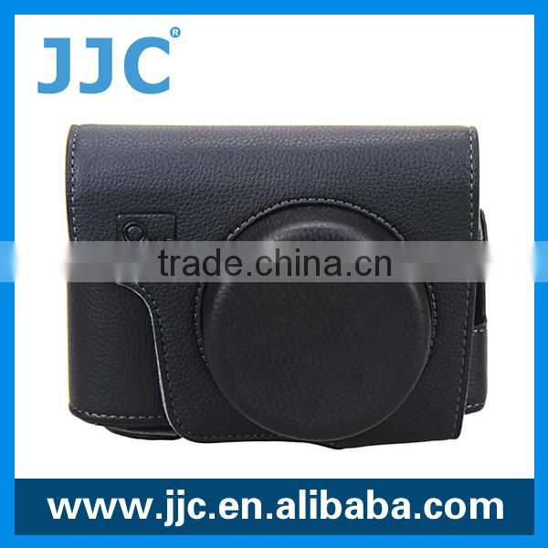 JJC Allows for tripod mounting leather camera case