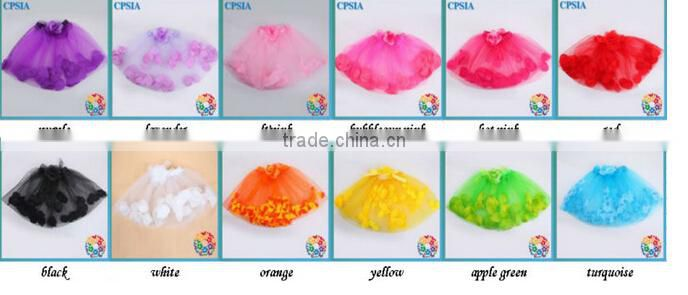 Hot Sale Colorful Girl Skirt Fashion Styles Of School Skirts Beautiful New Style Petals short skirt For Girl