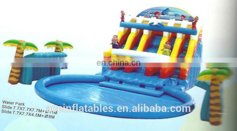 2017 Outdoor Exciting Inflatable Water Park / water sport inflatable / Inflatable Water Toys