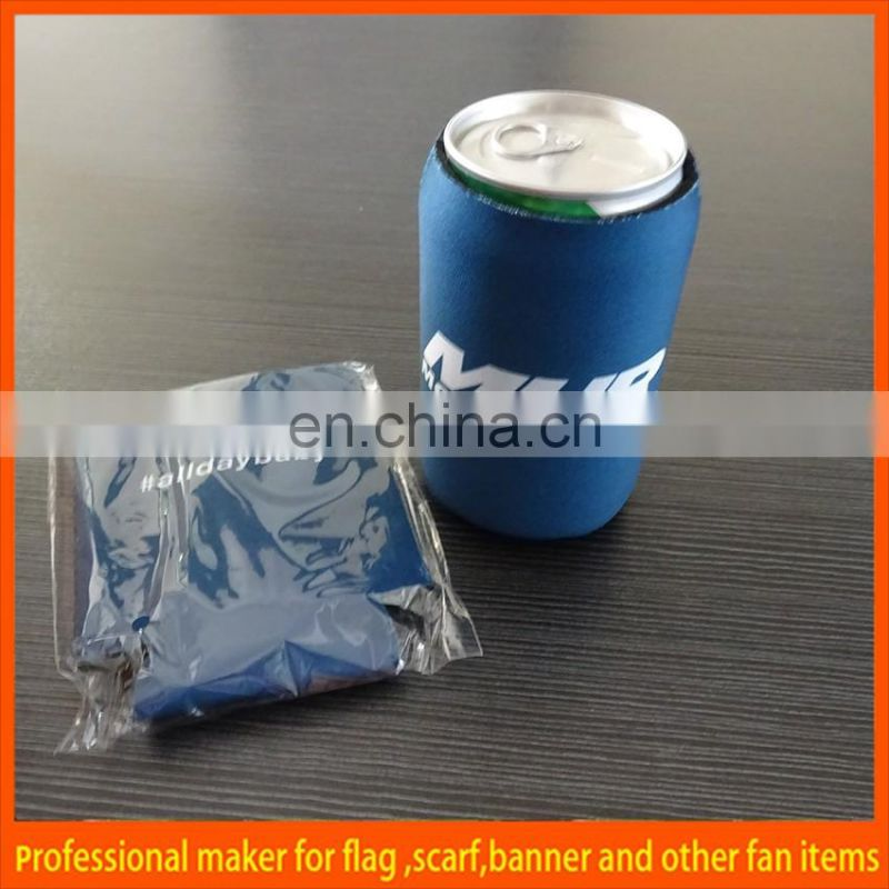 collapsible Neoprene beer bottle stubby holder