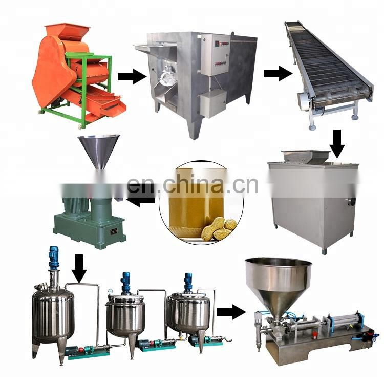 low price peanut butter machine maker production line