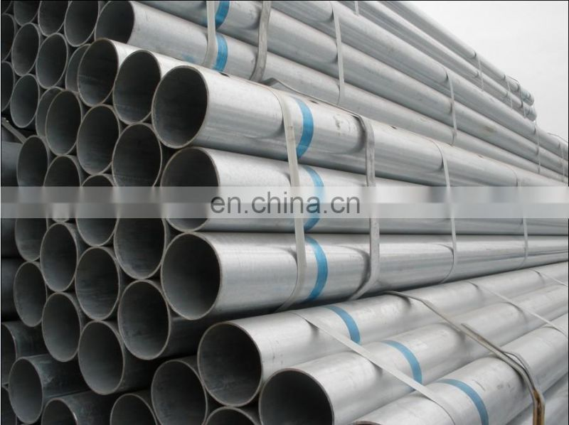 Alibaba Supplier STK400 Thin Wall Galvanized Stainless Steel Pipe