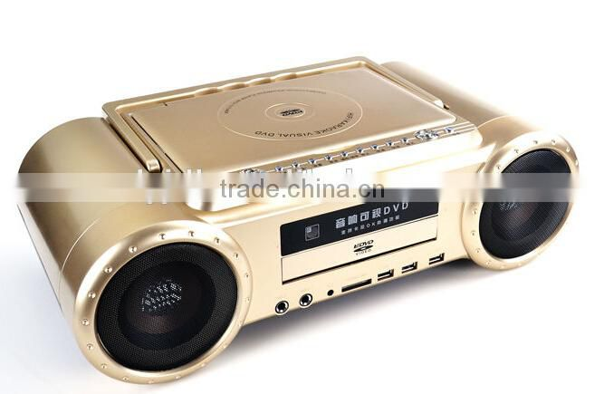 All In One Portable Karaoke Player with 9 inch screen TV FM
