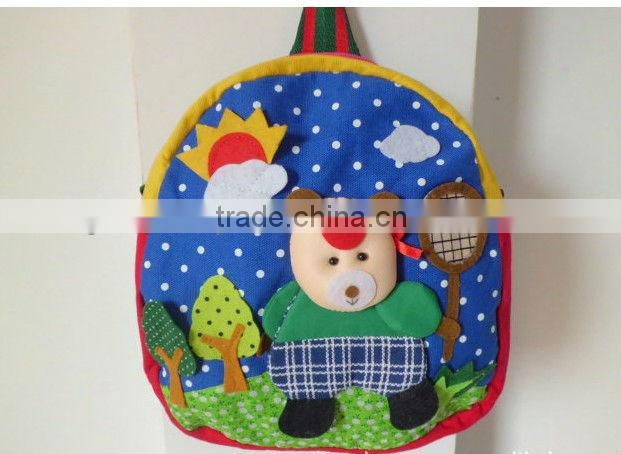 2013 Nice Children Backpack Baby School Bags Cartoon Animal Backpack Shoulder Bag