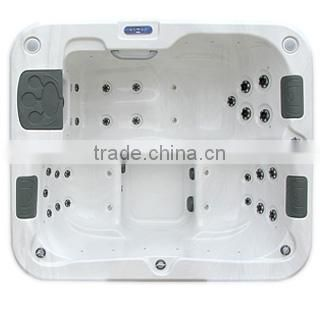 High quality competitive price small indoor acrylic whirlpool massage bathtub