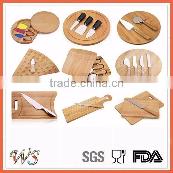 WSSKHL090 olive wood high grade cheese tools set