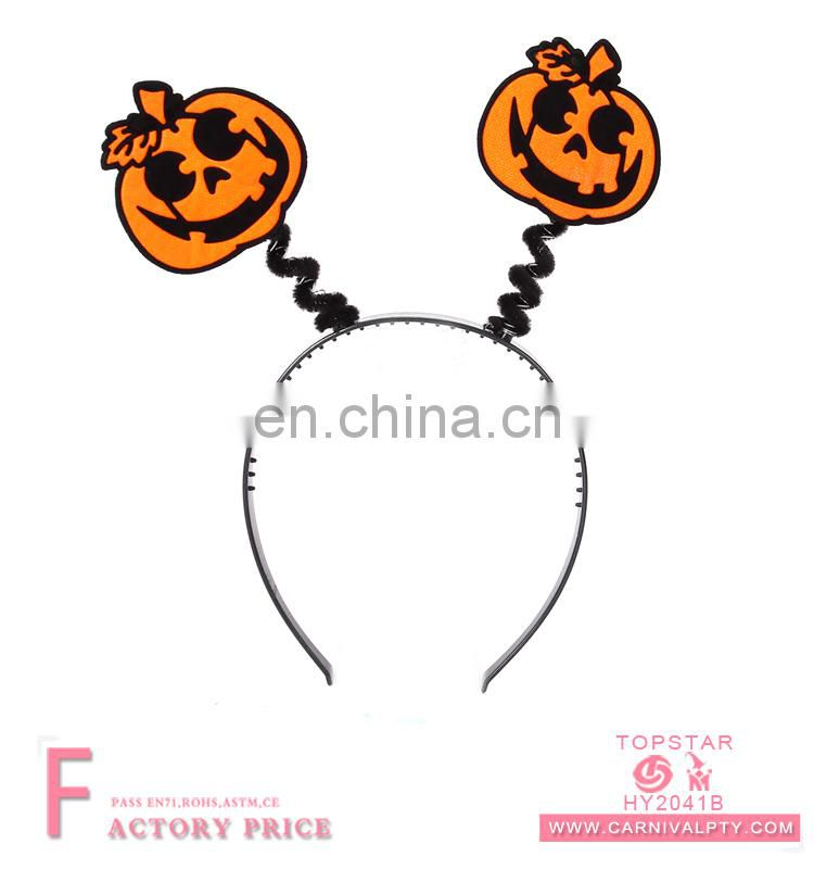 Halloween party accessories unisex pumpkin face head buckle for adult