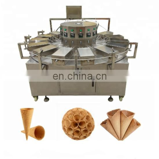 automatic ice cream cone machine wafer cone making machine