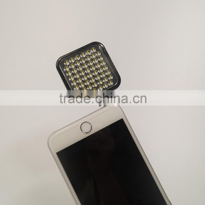 2015 OEM 54 LED VIDEO LIGHT FLASH FOR YOUR SMARTPHONE