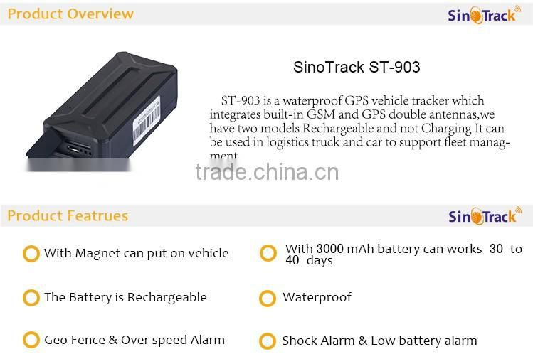 SinoTrack long time standby gps tracker ST-903 of GPS