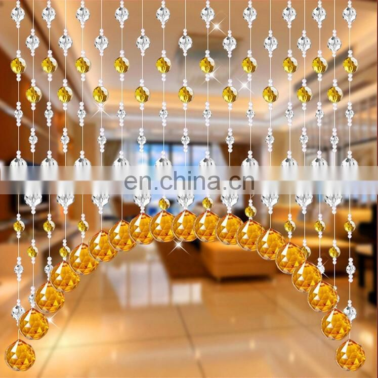 1 Meters Shine Acrylic Crystal Bead Hanging Strand with Pendant Manzanita Trees Party Wedding Decor Supplies Decorations