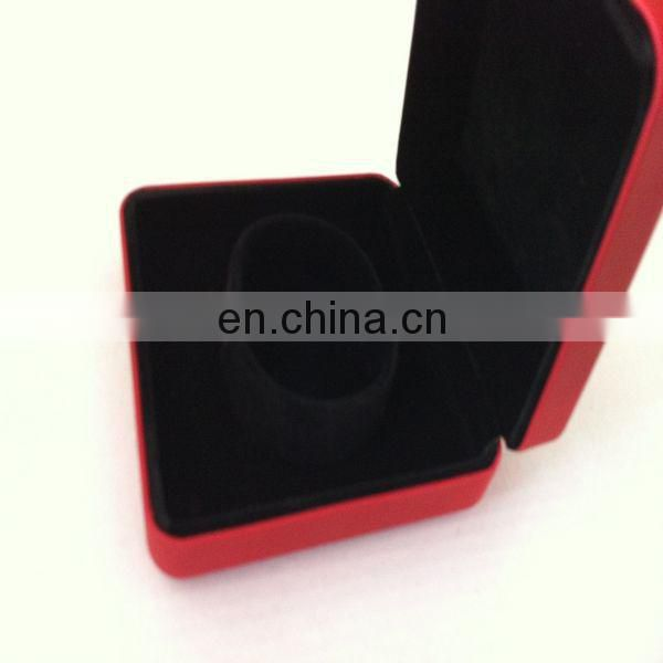 Popular red metal necklace box