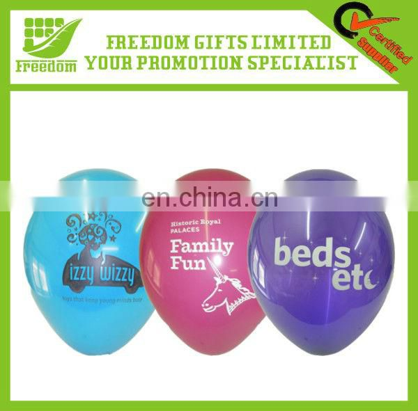Cheap Promotional Latex Logo Printed Balloon