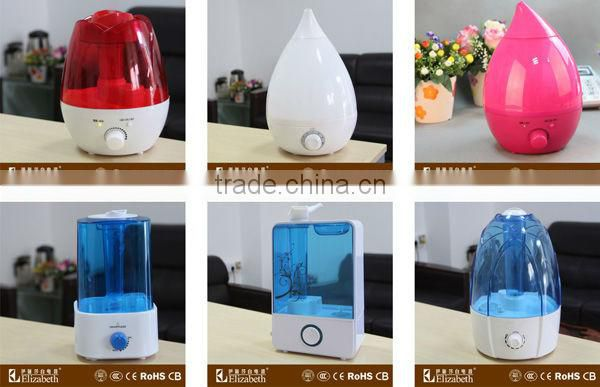 2016 Amazon1.5L free sample essential oil ultrasonic Humidifier