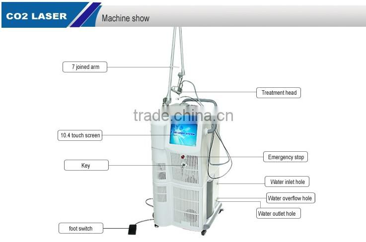 hotsale CO2 fractional laser vgina rejuvenation beauty equipment